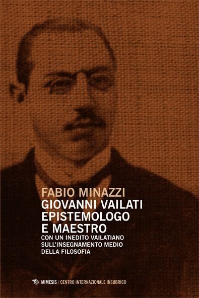 Book Cover: Giovanni Vailati epistemologo e maestro
