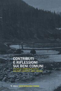 Book Cover: Contributi e riflessioni sui beni comuni