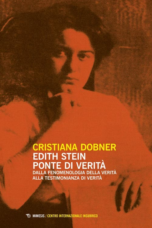 Book Cover: Edith Stein ponte di verità