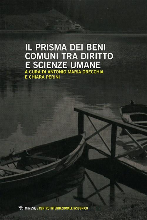 Book Cover: Il prisma dei beni comuni tra diritto e scienze umane