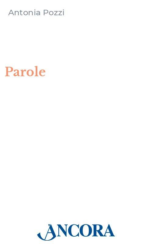 Book Cover: Parole