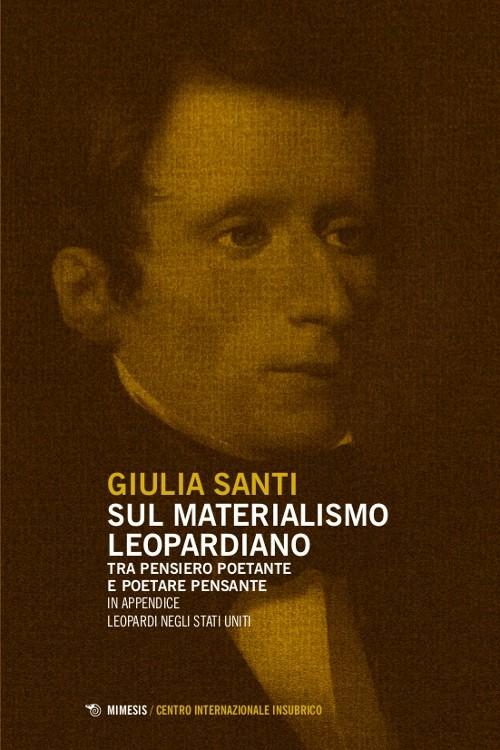 Book Cover: Sul materialismo leopardiano