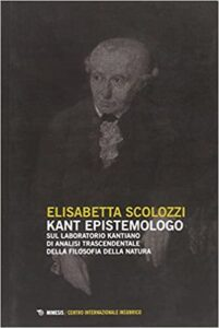 Book Cover: Kant epistemologo