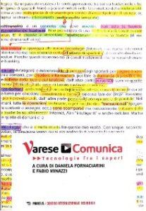 Book Cover: Varese Comunica