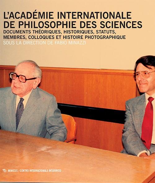 Book Cover: L'Académie Internationale de Philosophie des Sciences
