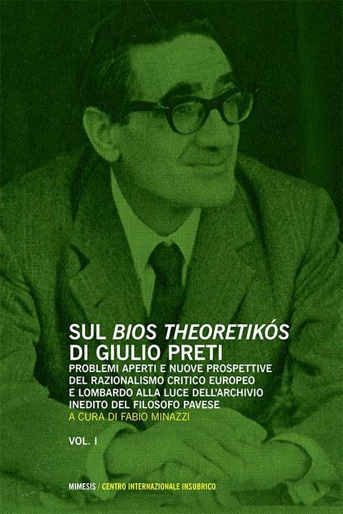 Book Cover: Sul bios theoretikós di Giulio Preti (2 voll.)