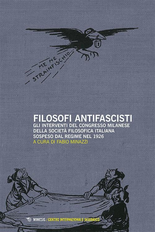 Book Cover: Filosofi antifascisti
